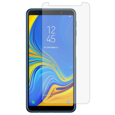 Folie Sticla Bluestar pentru Samsung Galaxy A7 2018 25D 03mm foto