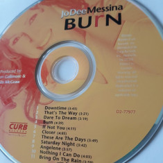 JO DEE MESSINA - BURN  - CD