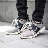 Adidasi pentru barbati bej cu siret din material textil usori talpa din spuma george