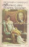Cumpara ieftin Scrisori Catre Doamna Recamier (1807-1830) - Benjamin Constant