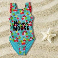 Costum de baie intreg Minnie Mouse tropical 3-8ani