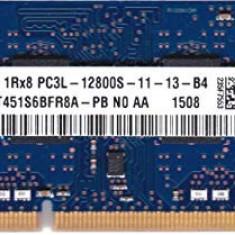 Memorie ram Sodimm SK HYNIX 4Gb DDR3 1600Mhz PC3L-12800S, 1.35V, hmt451s6bfr8a