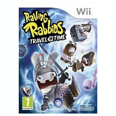 Raving Rabbids - Travel in time  - Nintendo Wii [Second hand] cod, Actiune, 16+, Multiplayer
