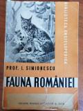 Fauna Romaniei - Prof. I. Simionescu (1946)
