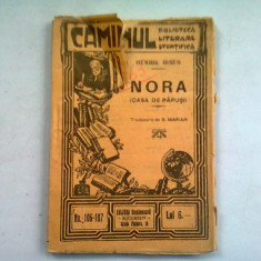 NORA - HENRIK IBSEN