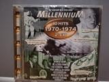 Millennium 4o Hits '70-'74 - Selectii - 2CD(1998/Emi/France)-CD ORIGINAL/Sigilat, emi records