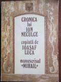 Cronica lui Ion Neculce. Manuscrisul Mihail-Ioasaf Luca