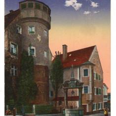 CPIB 16706 CARTE POSTALA - REGENSBURG. AIN WIDFANG, 1918