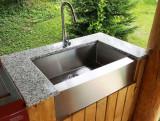 Chiuveta bucatarie 838x565x230mm CookingAid Apron Sink HORECA LUX inox 1.2mm