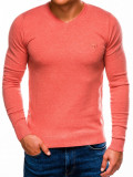 Cumpara ieftin Bluza pentru barbati, din bumbac, somon, casual slim fit - E74