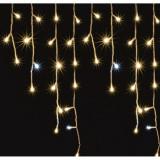Ghirlanda decorativa luminoasa flori de gheata, 5 m, 300 LED, exterior