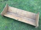 Frumoasa piesa decor lemn saseasca veche taraneasca