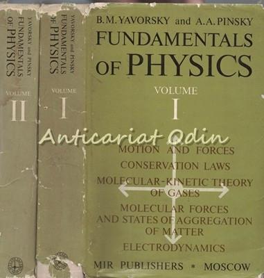 Fundamentals Of Physics I, II - B. M. Yavorsky, A. A. Pinsky foto