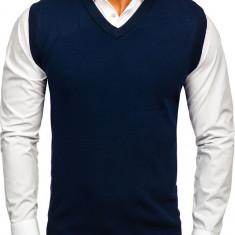 Pulover vestă bleumarin Bolf W01