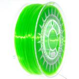 Filament Transparent Devil Design PETG pentru Imprimanta 3D 1.75 mm 1 kg - Verde Luminos