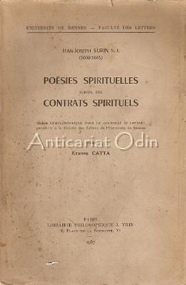 Jean-Joseph Surin S. J. (1600-1665) Poesies Spirituelles - Etienne Catta foto