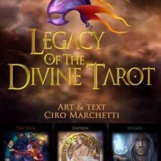Legacy of the Divine-CARTI TAROT ed lim LUX cutie f mare,superbe-LIVRARE IMEDIAT