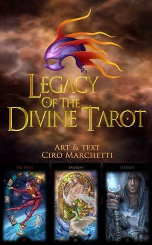 Legacy of the Divine - CARTI TAROT ed lim LUX cutie f mare, superbe