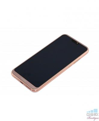 Ecran LCD Display cu RAMA Huawei P20 Lite Roz foto