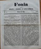 Ziarul Foaia pentru minte , inima si literatura , nr. 19 , 1862 , Samuel Klein