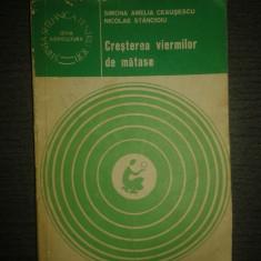 Cresterea viermilor de matase – Simona Amelia Ceausescu, Nicolae Stancioiu