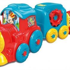 Jucarie As Disney Baby Clementoni Mickey Activity Train Pull Along