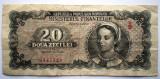 38. ROMANIA RPR 20 LEI 1950 SR. 129