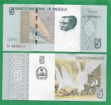 = ANGOLA - 5 KWANZAS – 2012 - UNC   =