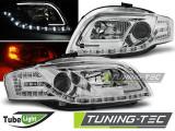 Faruri Audi A4 B7 11.04-03.08 LED TUBE LIGHTS Crom