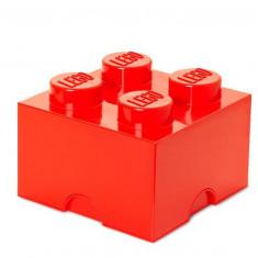Cutie depozitare LEGO 2x2 - Rosu