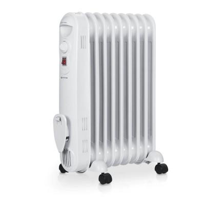 Calorifer electric cu ulei VITEK VT-1713, 2000 W, 9 elementi, protectie supraincalzire, functie deconectare la rasturnare, termostat reglabil, Alb foto