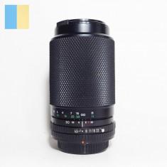 Obiectiv MC Soligor S/M 80-200mm f/4.5-5.6 montura Canon FD (push-pull)