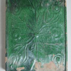 Cahla glazura verde sec 18-19