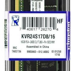Memorie Sodimm KINGSTON 16Gb DDR4 2400Mhz PC4-2400, cl17 volti 1.2V- Ram laptop