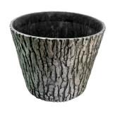 Ghiveci decorativ gradina model scoarta copac 38cm GartenVIP DiyLine, Artool