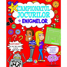 Campionatul jocurilor si enigmelor - Edward Godwin, Jane Moseley, Jackie Strachan