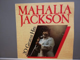 Mahalia Jackson – 20 Greatest Hits (1983/Astan/RFG) - Vinil/Gospel/Impecabil, rca records
