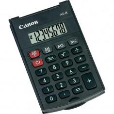 Calculator buzunar canon as8 8 digiti display lcd alimentare baterie functii: radacina patrata procentaj tasta