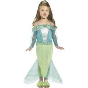 Costum Printesa Sirena fetite 4-6 ani
