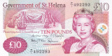 Bancnota Saint Helena 10 Pounds 2012 - P12b UNC