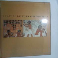THE ART OF EGYPTIAN HIEROGLYPHICS - DAVID SANDISON - Album