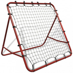 Rebounder ajustabil pentru antrenament de fotbal, 100x100 cm