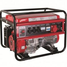 Generator benzina 5 kW 230V si 380V RAIDER