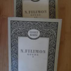 Opere Vol.1-2 - N. Filimon ,532537, 1956