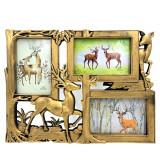 Cumpara ieftin Ramă foto colaj 3 poze - model Deer