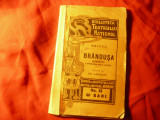 Brieux - Brandusa Ed. 1911 -trad. Em.Garleanu  -Bibl. Teatrului National ,104pag