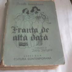 FUNCK BRENTANO--FRANTA DE ALTADATA,1944, Ed. Contemporana