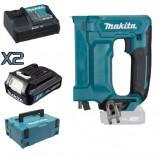 Cumpara ieftin Set Capsator cu acumulator Makita ST113DSAJ, 2 acumulatori 1.5Ah, in MakPak