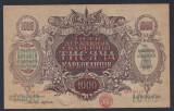 A5295 Ukraine Ucraina 1000 karbovantsiv karbovanez ND 1918 1920 UNC