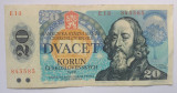 Cehoslovacia - 20 Korun 1988